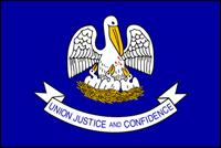"""דגל ארה""""ב - לואיזיאנה"""