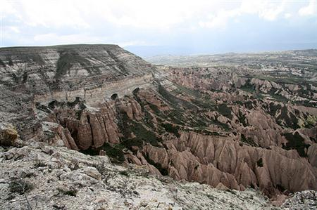 Bozdag Mountain Range