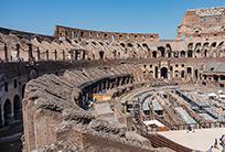 רצפה חדשה לקולוסיאום ברומא