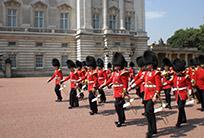 ארמון בקינגהם-החלפת משמרות