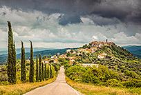 טיול בטוסקנה - נוף רומנטי
