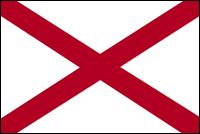 """דגל ארה""""ב - אלבמה"""