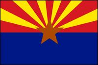 """דגל ארה""""ב - אריזונה"""
