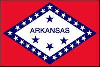 """דגל ארה""""ב - ארקנסו"""