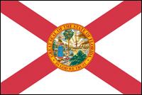 """דגל ארה""""ב - פלורידה"""