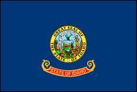 """דגל ארה""""ב - איידהו"""