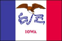 """דגל ארה""""ב - איווה"""