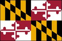 """דגל ארה""""ב - מרילנד"""