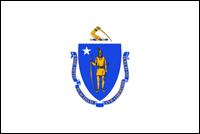 """דגל ארה""""ב - מסצ'וסטס"""