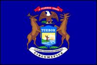"""דגל ארה""""ב - מישיגן"""