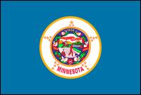 """דגל ארה""""ב - מינסוטה"""