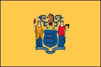 """דגל ארה""""ב - ניו ג'רזי"""
