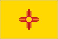 """דגל ארה""""ב - ניו מקסיקו"""