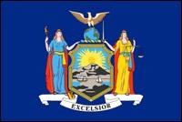 """דגל ארה""""ב - ניו יורק"""