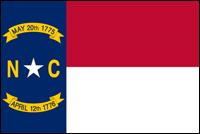 """דגל ארה""""ב - צפון קרוליינה"""