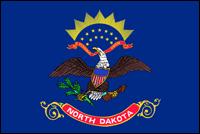 """דגל ארה""""ב - צפון דקוטה"""