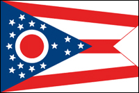 """דגל ארה""""ב - אוהיו"""