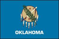"""דגל ארה""""ב - אוקלהומה"""