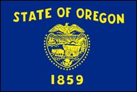 """דגל ארה""""ב - אורגון"""
