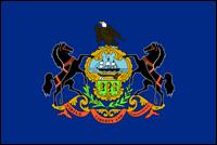 """דגל ארה""""ב - פנסילבניה"""