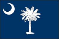 """דגל ארה""""ב - דרום קרוליינה"""