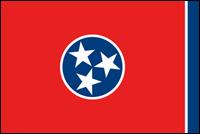 """דגל ארה""""ב - טנסי"""