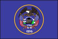 """דגל ארה""""ב - יוטה"""