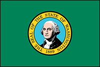 """דגל ארה""""ב - וושינגטון"""