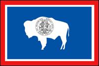 """דגל ארה""""ב - ויומינג"""