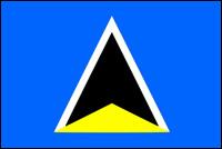 דגל סנט לוסיה