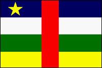 דגל רפובליקת מרכז אפריקה
