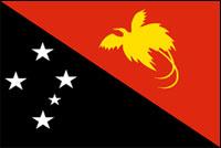 דגל פפואה ניו גינאה