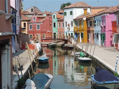איטליה-  וונציה והאי בוראנו