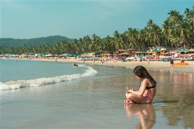 הודו - גואה חוף פאלולים