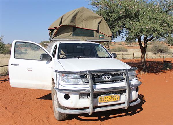 רכב שטח בנמיביה
