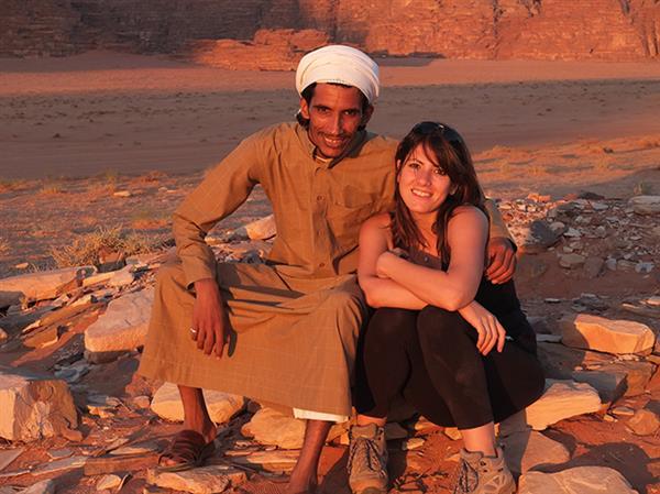 אני ואטייק במדבר