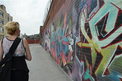 גרפיטי ב Bushwick,ברוקלין NY