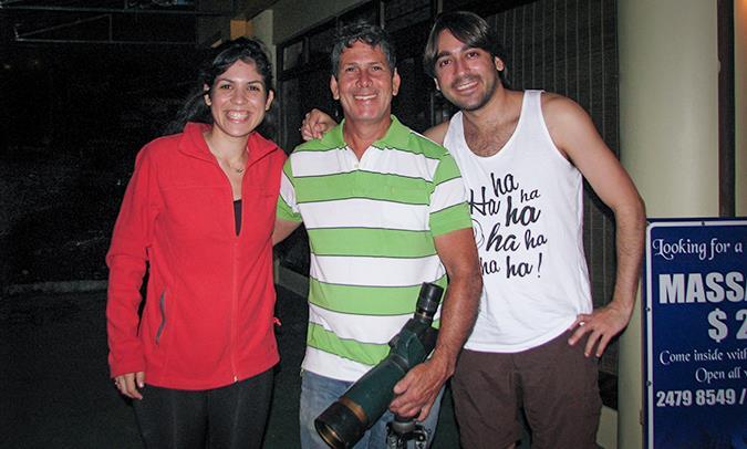 המדריך ג'ובאני בלה פורטונה, קוסטה ריקה