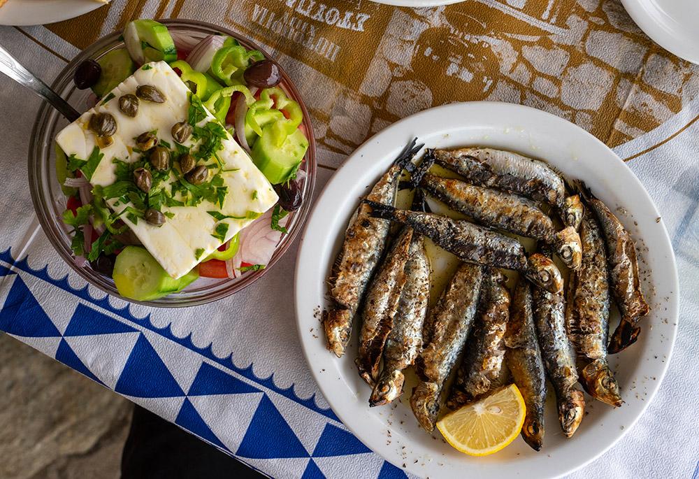 אוכל יווני