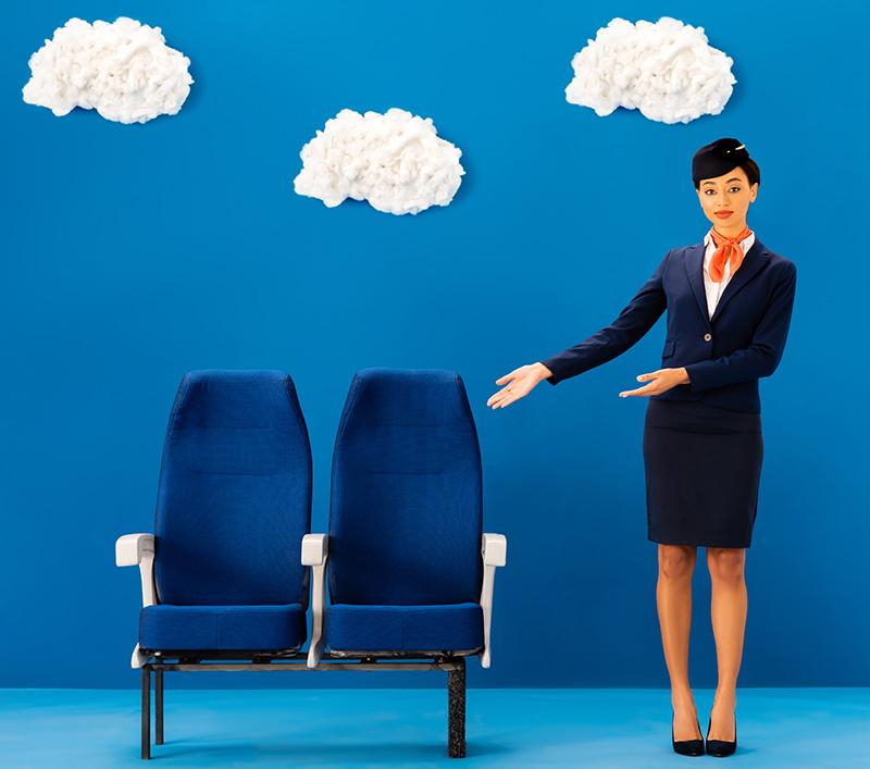 מושבים בטיסה